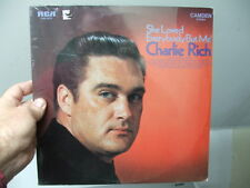 Charlie Rich SEALED RCA Camden LP She Loved Everyone But Me CAS-2417 Stereo 1970