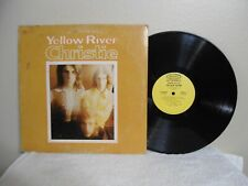 Christie LP Yellow River Very Cool 1970 Rock Orig!! San Bernadino