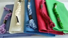 5-Piece Wool felt Bundle Wool Rayon National Nonwovens Perle Cotton Dmc