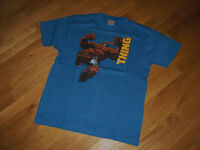 Marvel Fantastic Four Fan T Shirt The Thing Das Ding blau Größe L neu