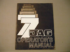 1977 Vintage Arctic Cat Jag Snowmobile Owner's / Operator's Manual