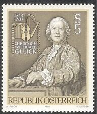 Austria 1987 Gluck/Composers/Music/Musicians/Entertainment/People/Arts 1v n43058