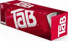 TAB Soft Drink Soda 12-Pack Soft Drinks Cola 12 oz