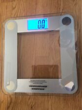 EatSmart Precision Digital Bathroom Scale with Extra Large Lighted Clear