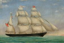 """high quality oil painting handpainted on canvas """"a Ship on the sea """"@N12946"""