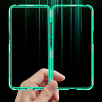 Magnet Tempered Glass Phone Case Cover For Samsung Galaxy S20 Ultra Plus Note 10