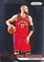 2018-19 Panini Prizm Basketball #93 Jonas Valanciunas Toronto Raptors