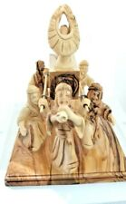More details for hand carved olive wood ark of the covenant / carriers jewish testimony judaica