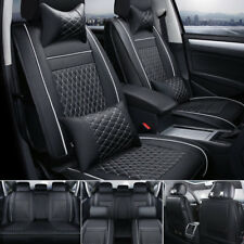 AU 5-Seats Set Car Seat Covers Auto SUV Front+Rear Cushion Protector Pad +Pillow