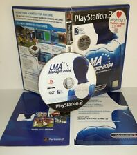 LMA MANAGER 2004 - Playstation 2 Ps2 Play Station Gioco Game Bambini