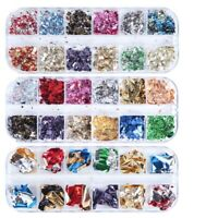 Nail Aluminum Flakes Mirror Decoration Sequins Glitter Art Irregular Foil