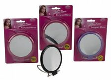 Silver Magnifying Make-Up Mirrors