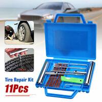 11Pcs Schwerlast Reifen Reparatur Auto Reifen Reifenpanne Rad Reparatur Stecker