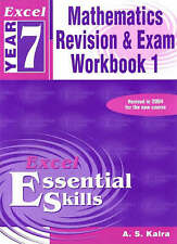 New Year 7 Maths Revision and Exam Workbook (Paperback, 2004)