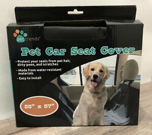 """55"""" X 57"""" Pet Car Seat Cover By Pet Trends"""