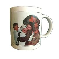 "Vintage Norman Rockwell ""Copyright 1955 The Norman Rockwell Family Trust"" Mug"