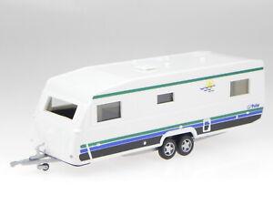 Caravan RV Trailer Big Polar Cararama 1:43
