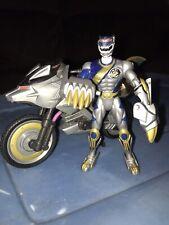 Power Rangers Wild Force Lunar Wolf Silver & Wolf War Cycle Set Bandai 2001
