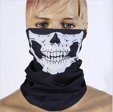 2PC Skeleton Skull Face shield Mask Biker Balaclava Call of Duty Costume Game CS