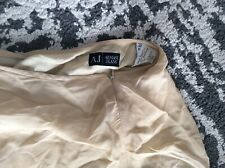 brown Armani jeans knee length skirt size 8