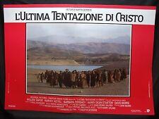 FOTOBUSTA CINEMA - L'ULTIMA TENTAZIONE DI CRISTO - W. DAFOE - 1988 -RELIGIOSO-01