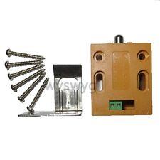 Mini Latch Electric Drawer deadbolt Cabinet Lock DC12V Small Locker Fail Secure