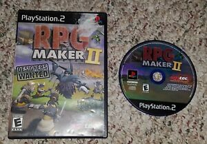 RPG MAKER II Playstation 2/PS2 Sony RARE TESTED/WORKS