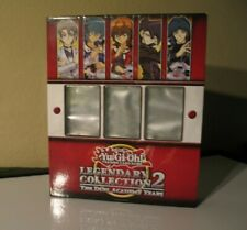 Yu-Gi-Oh! Yugioh Legendary Collection 2 The Duel Academy Years BINDER ONLY 1996