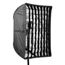 AM_ Foldable Umbrella Speedlite Softbox with Grid For Portraits Photography Vide