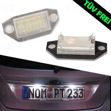 2x LED SMD Kennzeichenbeleuchtung Ford Mondeo III 3 kombi Stufenheck TÜV FREI