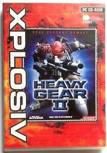 HEAVY GEAR II PC CD-ROM BATTLE GAME BRAND NEW UK ORIGINAL  HEAVY GEAR 2