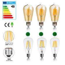 E27 Edison Vintage LED Licht Lampe Filament Nostalgie Glühbirne Retro Bulb Pear