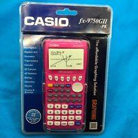 Casio Graphing Calculator fx-9750GI- Pink and fx-9750GII- Pink ⚡✈️ SHIPS SAME DA