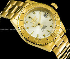 Invicta Mens Pro Diver Automatic 24 Jewels NH35A Exhibition Coin Edge 200M Watch