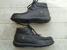 Birkenstock Footprints Leder Schuhe 2 Fußbetten 33 und 34 Pirot Boots schwarz