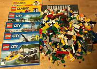 NEUES, unbenutztes Lego-Paket incl. Steine und Straßenplatte, Bauanleitung (3)