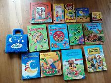 Kinderbücher + Liederbücher mit CD, Konvolut