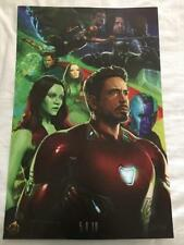 MARVEL'S INFINITY WARS 13X20 Original Promo Movie Poster SDCC 2017 AVENGERS Rare
