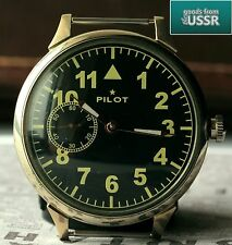 """PILOT"" cal. 3602 AVIATOR Vintage Soviet Wrist Watch Excellent"
