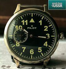 """PILOT"" cal. 3602 AVIATOR Vintage Soviet Wrist Watch Excellent"