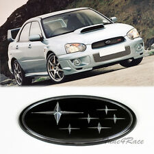 02-05 Black Star logo Front Grill Emblem Badge For Subaru WRX STI Impreza Grille