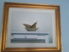 """ELEANOR ALLEN """"PEARS # 4"""" OIL ON CANVAS 20""""X26"""" GOLD FRAMED"""