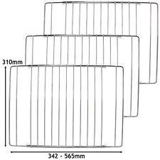3 x Einstellbar Chrom Ofen Regale Gitter Regal Smeg Herd Regal 345 - 565mm