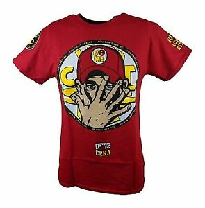 John Cena Boys Kids U Can't C Me 2014 Red T-shirt