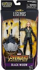 Marvel Legends Cull Obsidian Series Black Widow Action Figure