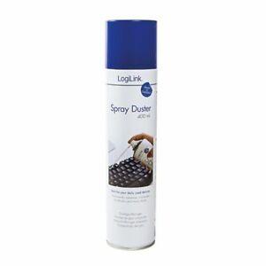 LogiLink RP0001 Reinigungsspray Spray Duster Druck Luft Dose 400ml Tastatur