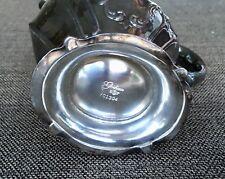 "Vintage Gorham Chantilly YC 1339 Silver Plate EP Water Tea Pitcher 8.75""  3pt"
