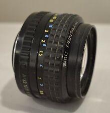 PENTAX A 50mm  SMC  f1.4 LENS