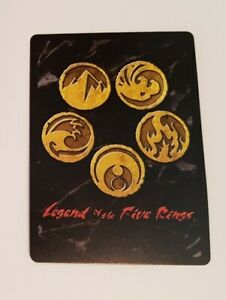Legend of the Five Rings L5R CCG Trading Card Singles (AEG, 2010) *YOU CHOOSE*