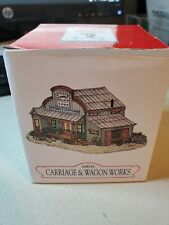 Liberty Falls Handpainted Pewter Carriage &Wagon Works